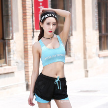Fashion women breathable comfortable sport set lingerie yoga clothes