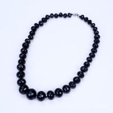Forme diplômé de 10mm pour collier d'Agate Noir 20mm