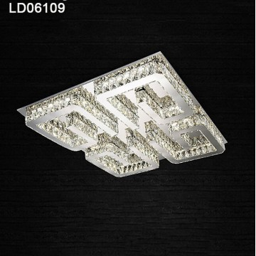 lampadari per foyer dell'hotel illuminazione a led a soffitto