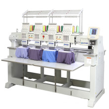High Speed 4 Heads Computer Embroidery Machine with 9 Colors CE and SGS certification