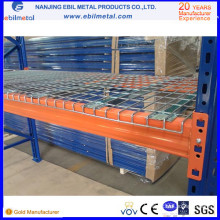 New Warehouse Galvanized Mesh Flare Wire Decking avec le prix d'usine