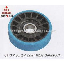 Elevator door roller, sliding roller, hanger, 76.2mm, 6203Z