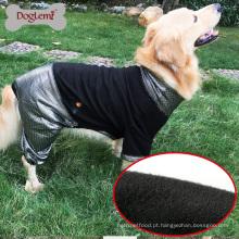 HeatPaw Calor Reflexivo Cão Vestuário Reversível Velo Grande Cão Jaqueta Roupa Do Animal De Estimação Para O Cão