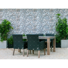 The Exquisite Style Patio Garden Dining Set PE Rattan Wicker Furniture for Outdoor