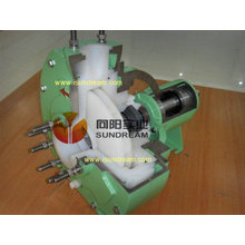 China Famous Standard Chemical Process Pump for Corrosive Solutions