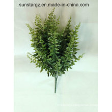 PE Melon Seeds Fern Twig Artificial Plant for Home Decoration (4947)