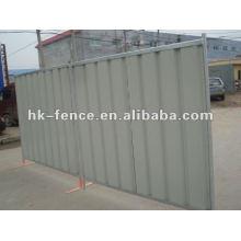 steel hoarding panel city panels