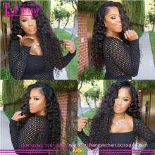 Циндао оптовая дешевые вьющиеся человеческих волос парики для чернокожих женщин100% естественные Виргинские человеческие волосы вьющиеся парики для чернокожих женщин