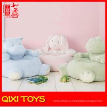 silla de almohada de felpa de juguete de bebé silla rellena y felpa de animales