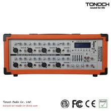 Tonoch 8 Kanal Power Box PA Mixer