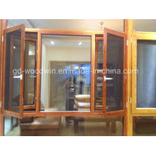 Heat Insulation Casement Window with Mosquito Net