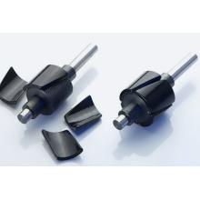 Сегмент дуги магнитный спеченный неодимовый магнит двигателя NdFeB с RoHS / SGS
