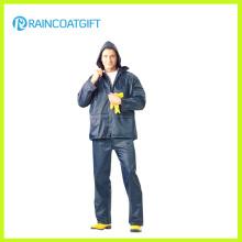 Waterproof 100% Polyester PVC Coating Rainwear