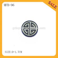 MFB96 Персонализация пользовательских джинсовых куртки металлические кнопки поставщик, машинная печать круглые металлические кнопки