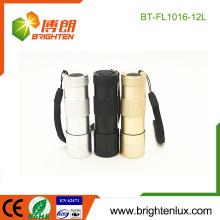 Fabrik Versorgungsmaterial 3 * AAA trockene Batterie angetriebene fördernde Tasche preiswerte 12 geführte Taschenlampen-Großverkauf