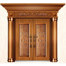 Luxury Imitate brass exterior doors for homes