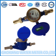 Medidor de água multi-jato de discagem a seco de classe B (DN15-DN40)