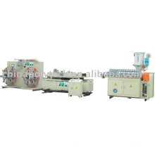 PE/ PVC Single Wall Corrugated Pipe Extrusion Line