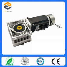 60 Brushless DC Motor with Worm Gear Worm Reducer 2n. M Brake