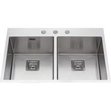 S2112 Topmount Ручной Работы Из Нержавеющей Стали Кухонная Раковина