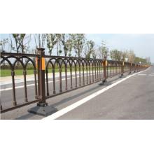 High quality fittings galvanized steelguardrail/ pedestrian barrier
