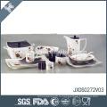 Высококачественная оптовая цена на фарфоровую посуду с микроволновой печью Создайте собственную столовую посуду