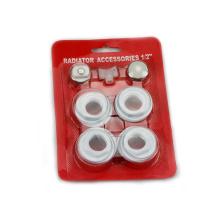 Accesorios del radiador 7pcs accesorios del radiador de aluminio válvulas y accesorios del radiador