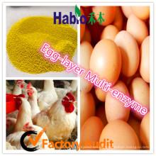 Habio capas de huevos de alta calidad especializada en enzimas múltiples