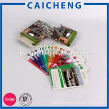 Kundenspezifischer preiswerter bunter Postkarten-Druck mit Kasten