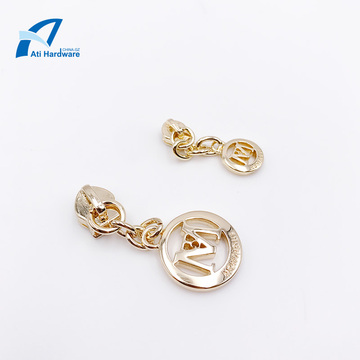 Custom High Quality Fashion Zipper Puller Metal Accessories