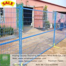 PVC-beschichteter temporärer Zaun