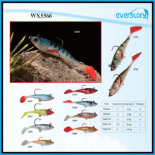 Artifical Lead Soft Lure Fishing Tackle From 6cm-20cm