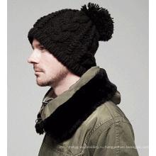 Мода Бекхэм руку трикотажные зимние шапки
