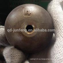 bola de acero del bastidor de inversión con el agujero