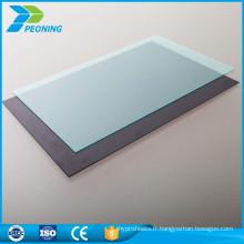 Nouvelle promotion de style personnalisé 4 mm lexan en polycarbonate en plastique plat