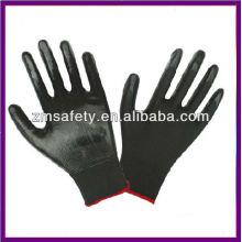 Black Work PU Nylon Gloves ZM782