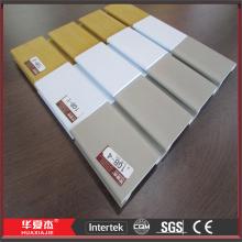 Durable PVC Foam Slat Wall Panels for Display