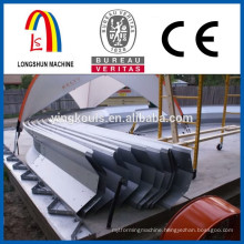 Screw joint arch roof panel producting line