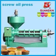 Extraction de l'huile de tournesol Yzyx 168 20ton / jour Gx Oil Press Huile de soja Pressage