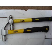 Американский Тип молоток с раздвоенным хвостом полированный с волоконно ручкой