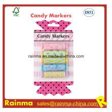 Zucker Süßigkeiten Mini Textmarker für Kinder