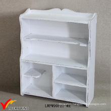 Vintage Shelving Ideas Antique White Wooden Shelf