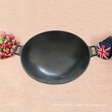 37cm Chinese Black Wok Used For Gas And Induction
