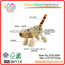 Wooden Toy Factory Wooden Tiger Model