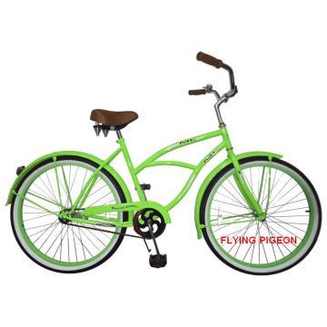 Fashion Green Man Beach Cruiser Bikes (FP-BCB-C018)