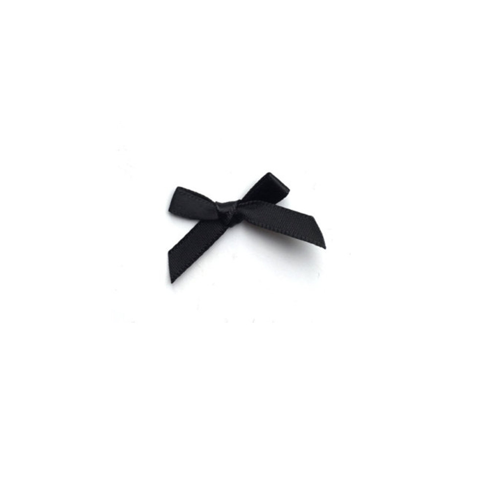 mini Ribbon Bow black