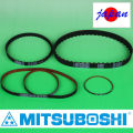Flexible, lightweight & thin Mitsuboshi Belting RUBBER strong timing belt for precision equipment and IT systems. Made in Japan