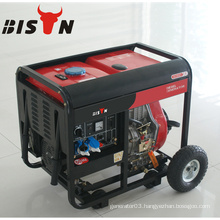 BISON CHINA Open Frame Low Price 3 Phase Auto Start Diesel Generator 5kva