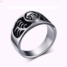 2017 cheap stainless steel vintage silver skull ring jewelry