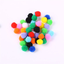 Factory direct sale 1cm-3cm colorful PomPoms for birthday party decorations